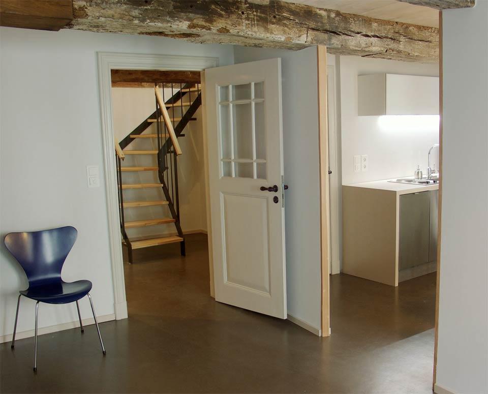 Fenster zwischen zwei räumen  dielenhaus.de ::: Vermietung